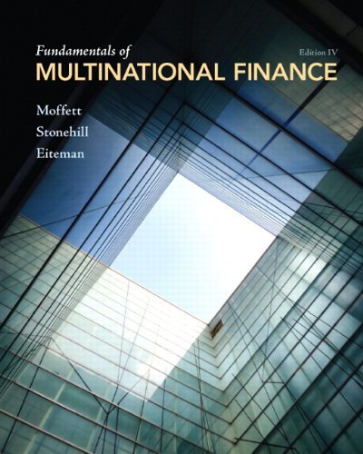 Fundamentals of Multinational Finance 9780132138079