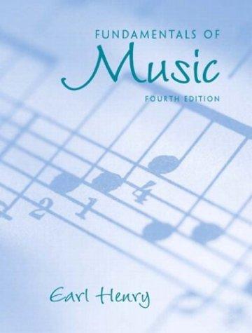 Fundamentals of Music 9780131120938