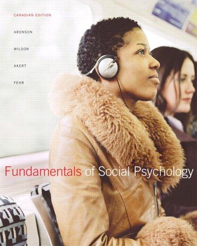 Fundamentals of Social Psychology 9780132023177