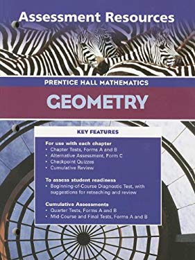 Geometry 3rd Edition Assessment Resources 2004c 9780130634191