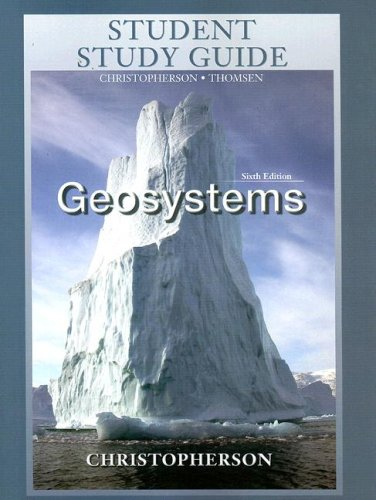 Geosystems Sixth Edition 9780131330924