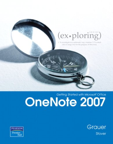 Getting Started with Microsoft Office OneNote 2007 9780135141083