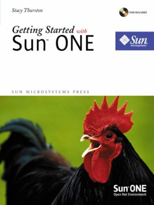 Getting Started with Sun One [With CDROM] 9780130893901