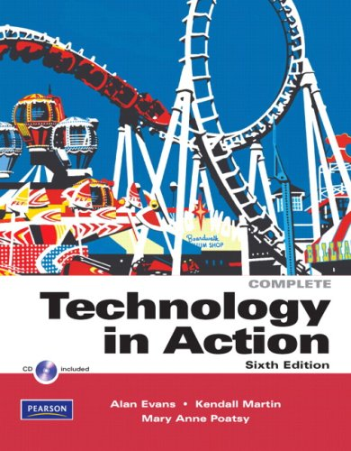 Go! Technology in Action [With CDROM] 9780135046241