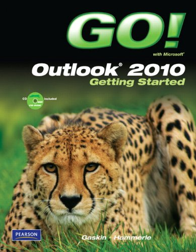 Go! with Microsoft Outlook 2010 Getting Started [With CDROM] 9780137025367