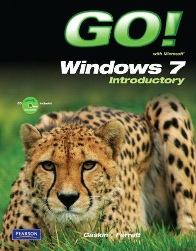 Go! with Windows 7 Introductory [With CDROM] 9780135089033