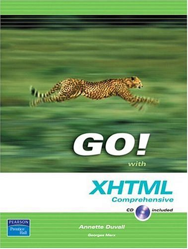 Go! with XHTML Comprehensive 9780131466265