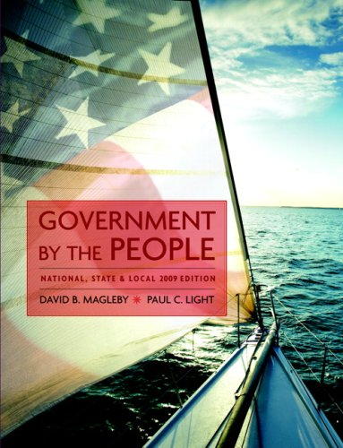 Government by the People: National, State, and Local 9780136062424