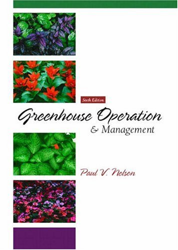 Greenhouse Operation and Management 9780130105776
