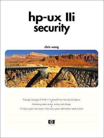 HP-UX 11i Security 9780130330628
