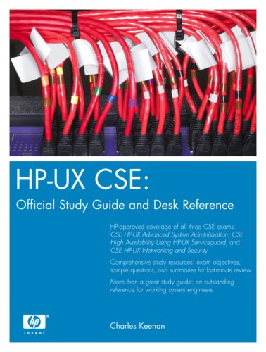 HP-UX CSE: Official Study Guide and Desk Reference 9780131463967