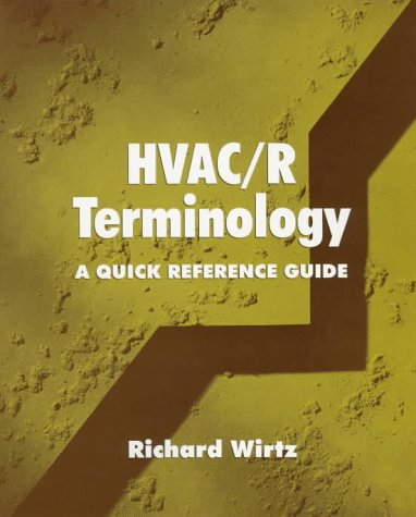 HVAC/R Terminology: A Quick Reference Guide 9780135929735