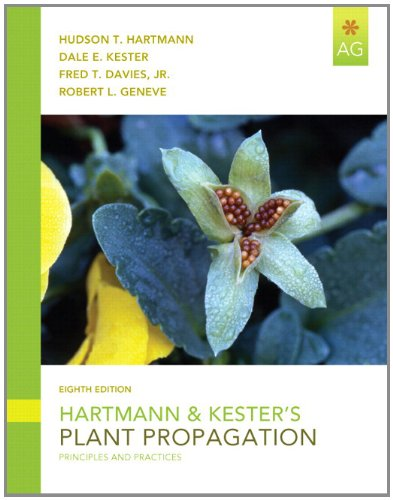 Hartmann & Kester's Plant Propagation: Principles and Practices 9780135054413