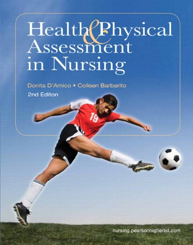 Health & Physical Assessment in Nursing 9780135114155