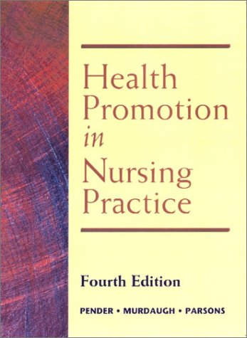Health Promotion in Nursing Practice 9780130319500