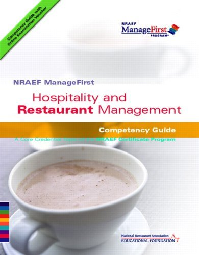 Hospitality and Restaurant Management: Competency Guide 9780132414654