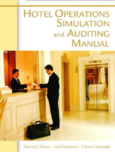 Hotel Operations Simulation and Auditing Manual [With CDROMs] 9780131704619