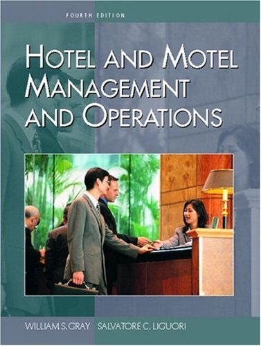 Hotel and Motel Management and Operations 9780130990891