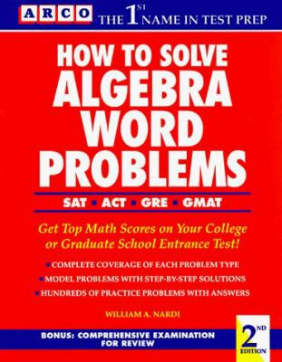 How to Solve Algebra Word Problems