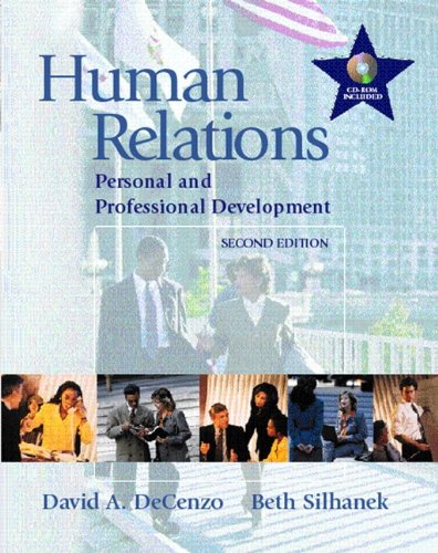 Human Relations: Personal and Professional Development 9780130145741