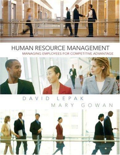 Human Resource Management 9780131525320
