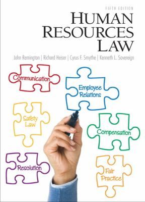 Human Resources Law 9780132568890