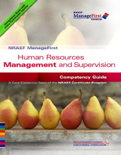 Human Resources Management and Supervision: Competency Guide 9780132331616