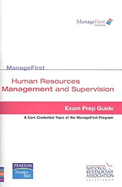 Human Resources Management and Supervision: Exam Prep Guide