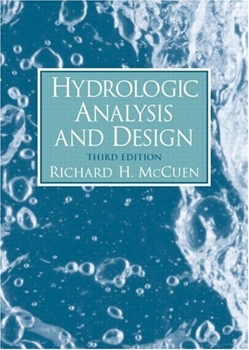 Hydrologic Analysis and Design 9780131424241