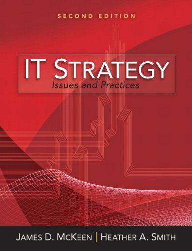 IT Strategy: Issues and Practices 9780132145664
