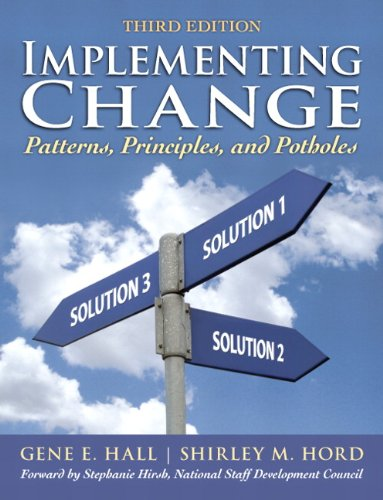 implementing change A research-based guide for educators to the practical methods of understanding, evaluating and facilitating the change process significantly revised based on student and instructor feedback, the new fourth edition of implementing change continues to examine the ways in which change processes are.