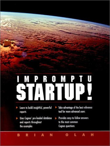 Impromptu Startup! 9780130191151