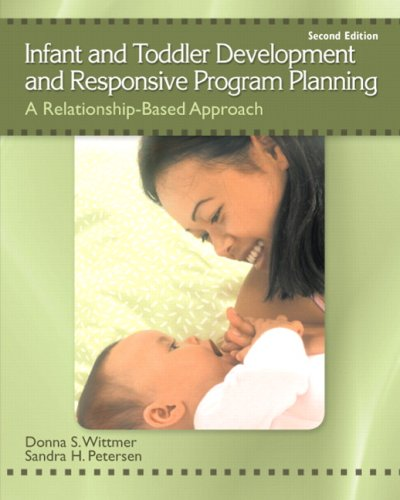 Infant and Toddler Development and Responsive Program Planning: A Relationship-Based Approach 9780137152636