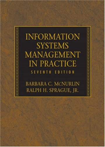 Information Systems Management in Practice 9780131854710