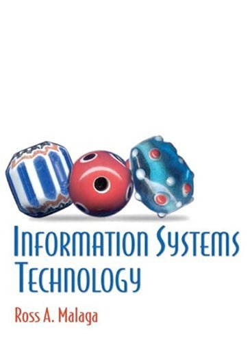 Information Systems Technology 9780130497505