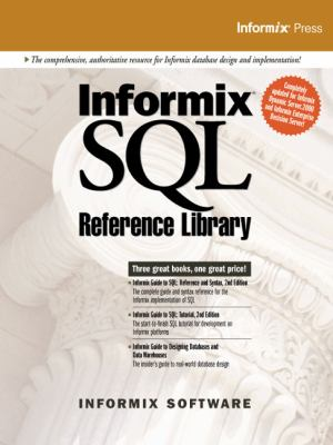 Informix SQL Reference Library 9780130170422