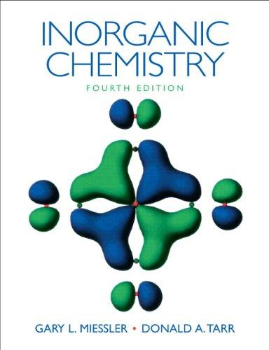 Inorganic Chemistry 9780136128663