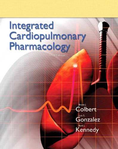 Integrated Cardiopulmonary Pharmacology 9780132568722