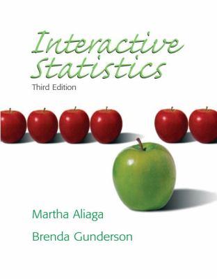Interactive Statistics - 3rd Edition