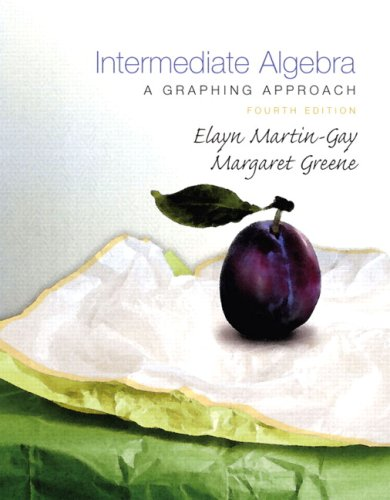 Intermediate Algebra: A Graphing Approach [With DVD] 9780136007333