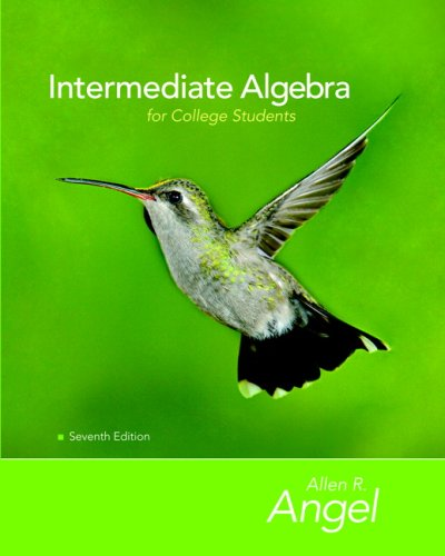 Intermediate Algebra for College Students [With CD-ROM] 9780132383578