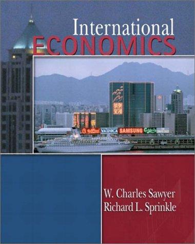 International Economics 9780130172761