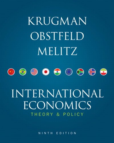 International Economics: Theory & Policy