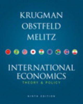 International Economics Plus New Myeconlab with Pearson Etext Access Card (1-Semester Access) 9780132961646