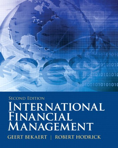 International Financial Management 9780132162760