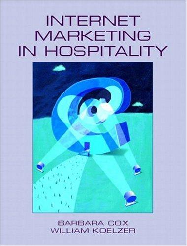 Internet Marketing in Hospitality 9780130984753