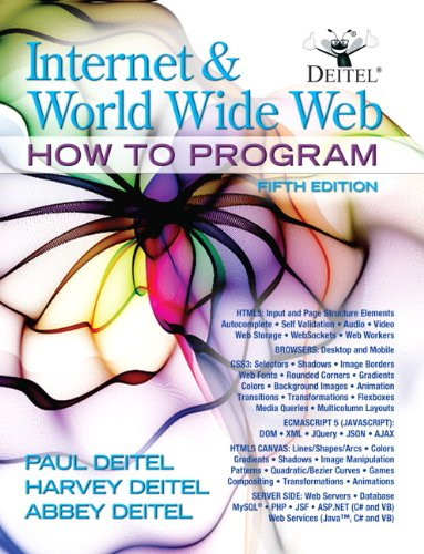 Internet and World Wide Web How to Program 9780132151009