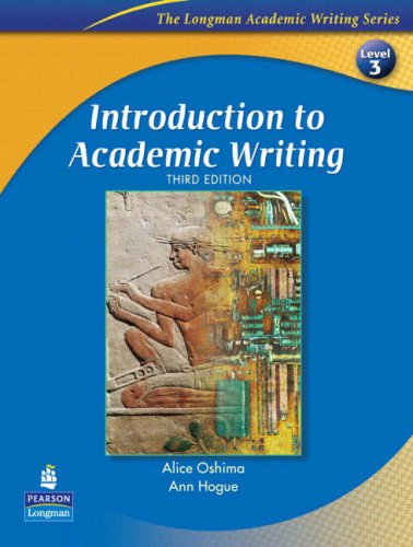 Introduction to Academic Writing 9780131933958