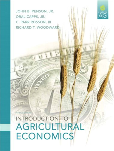 Introduction to Agricultural Economics 9780131592483
