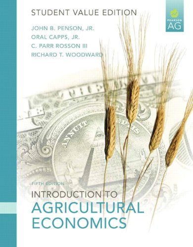 Introduction to Agricultural Economics: Student Value Edition 9780135070260